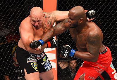 Derrick Lewis and Shawn Jordan
